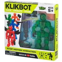Figurina pentru animatie Klikbot S1, Verde