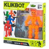 Figurina pentru animatie Klikbot S1, Oranj