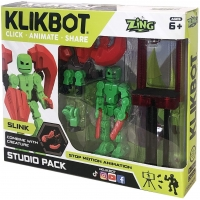 Set de joaca pentru figurine Klikbot S1 - Studio Verde