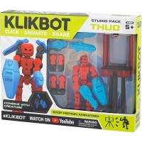 Set de joaca pentru figurine Klikbot S1 - Studio Rosu
