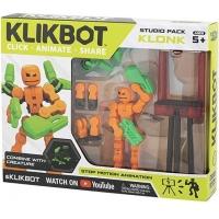 Set de joaca pentru figurine Klikbot S1 - Studio Oranj
