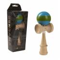 Joc de indemanare - Momki Kendama - Albastru si verde