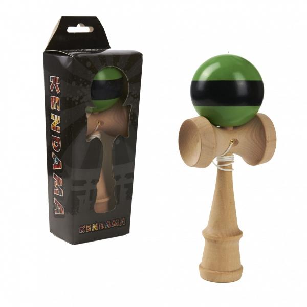 Joc de indemanare - Momki Kendama - Verde si negru