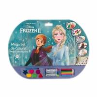 Mega set de colorat 5in1 Frozen 2