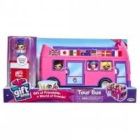 Set figurine Gift 'ems, Autobuz si cutie cu surpriza