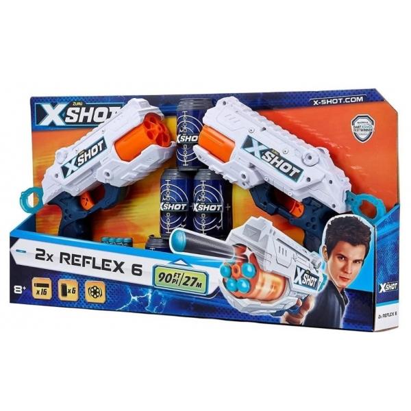 Set blaster X-Shot Excel Reflex 6 Combo