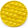 Jucarie senzoriala , Pop It Now, Disc galben 12,5 cm
