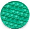Jucarie senzoriala , Pop It Now, Disc verde 12.5 cm
