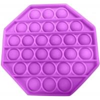 Jucarie senzoriala , Pop It Now, Octogon mov12.5 cm