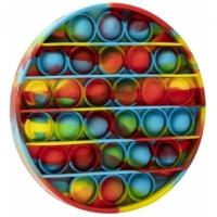 Jucarie Pop It Now, Disc Multicolor Verzui - 12,5 cm