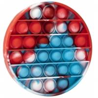 Jucarie Pop It Now, Disc Multicolor bLUE  12,5 cm