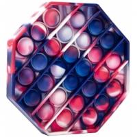 Jucarie Pop It , Octogon Multicolor Storm  12.5 cm