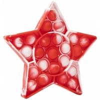 Pop It Now, Stea multicolor RED 12,5 CM