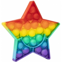 Pop It Now, Stea multicolor Rainbow 12,5 CM