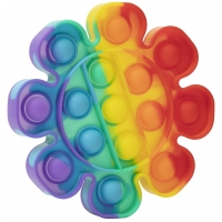 Jucarie Pop It Now, Flower Multicolor M1 15 cm