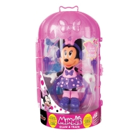 Papusa figurina Minnie Mouse - Glam and train - La sport