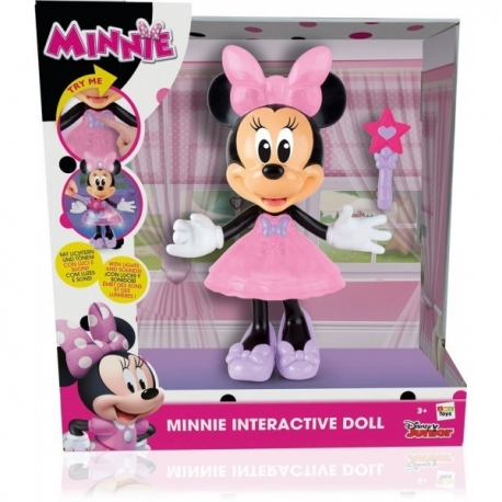 Papusa Minnie Interactiva cu bagheta magica - Magic touch