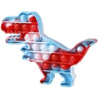 Pop It Now, Dinozaur multicolor Blue 20 cm