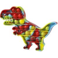 Pop It Now, Dinozaur multicolor Verzui 20 cm