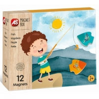 Joc Educativ- Cutie Magnetica Pescuitul