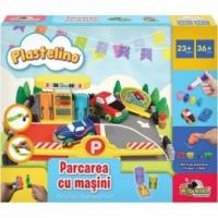 Set Plastelino - Parcarea cu masini