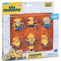 Set 6 minifigurine Minions cu brate articulate