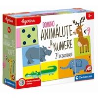 Joc Educativ Domino Animalute & Numere- Agerino