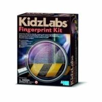 Set Educativ Kidz Labs, 4M, Kit Amprente