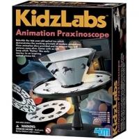 Set Educativ Kidz Labs, 4M, Kit Animatie Praxinoscop