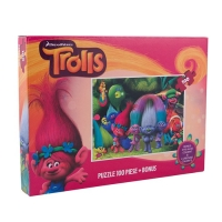 Puzzle 100 piese Trolls