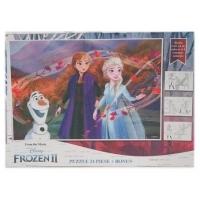 Puzzle 24 piese + Bonus Frozen II