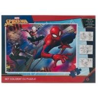 Puzzle 24 piese + Bonus Spider Man