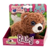 Jucarie de plus interactiva Noriel Pets Baby - Ursulet