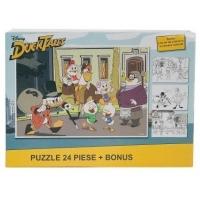 Puzzle 24 piese + Bonus Donald