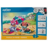 Puzzle 24 piese + Bonus Minnie II