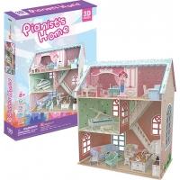 Puzzle 3D Cubicfun Colectia Casuta papusilor - Casa pianistului