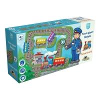 Puzzle Gigant Noriel Retele - Calea ferata, 28 piese