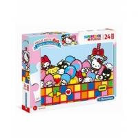 Puzzle Super Color Hello Kitty 24 Maxi