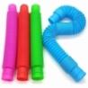 Jucarie Senzoriala Tube, Super Elastic - culori diferite