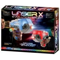 Set pistoale interactive Blaster Evo Sport, Laser X dublu
