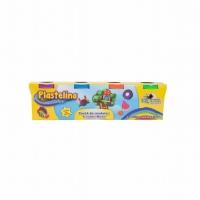 Plastelino - Pasta de modelat Tutti Frutti (4 culori)