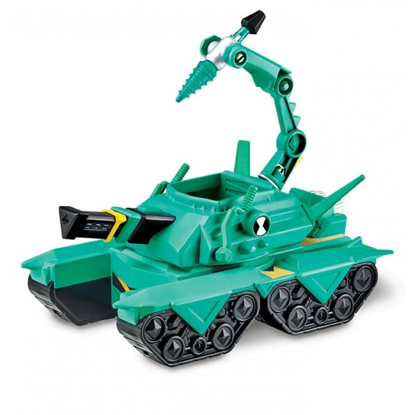 Vehicul Extraterestru cu figurina Cap de Diamant - BEN 10