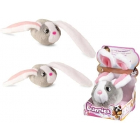IMC Bunnies - Iepuras de plus care se ataseaza - Gri