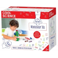 Cool Science - Set educativ - Microscop 30x