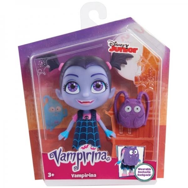Papusa figurina Vampirina cu rucsac
