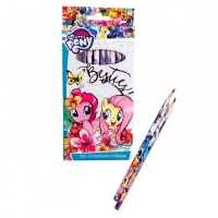 Set 12 creioane colorate My Little Pony