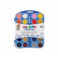 Acuarele cu 24 culori - Carioca