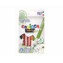 Set 10 markere textile - Carioca