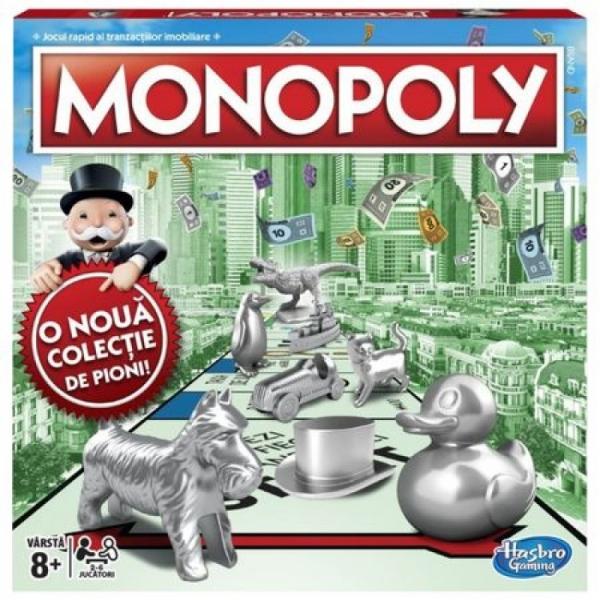 Joc Monopoly Clasic - In limba romana - Hasbro