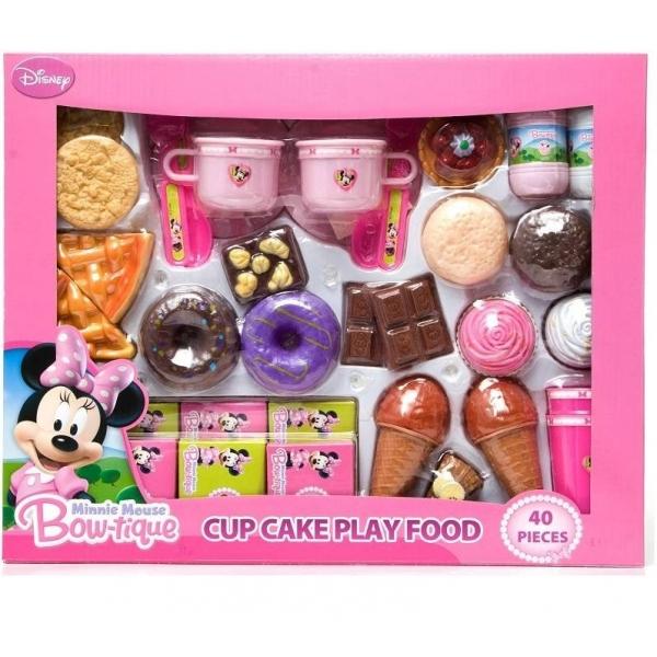 Set de joaca - Cofetarie Minnie Mouse - 40 piese